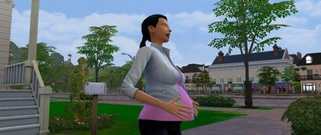 Беременный сим