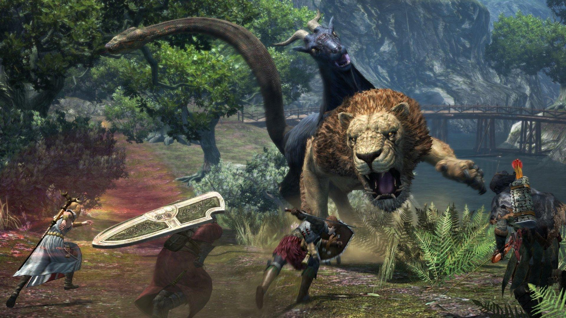 Большая сборка для игры Dragon's Dogma: Dark Arisen от Styx