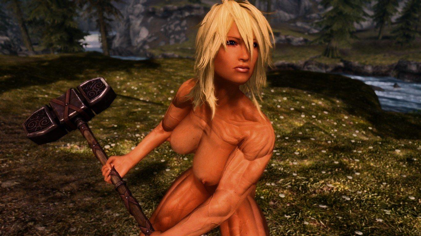 Leona The Barbarian Follower CBBE HDT 1.4