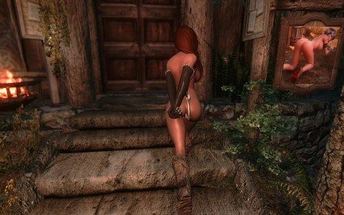 Секс рабыни в темнице моды в скайриме 5