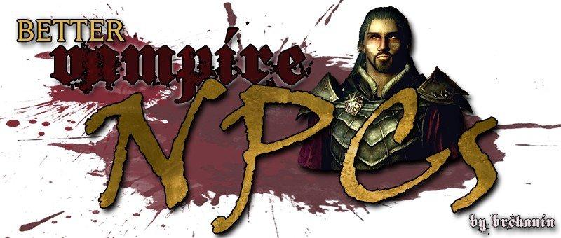 Better Vampire NPCs SE и LE Rus