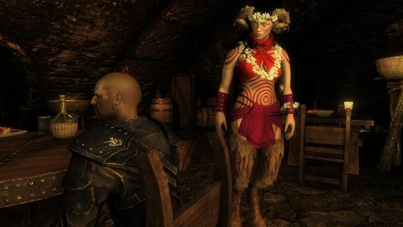 Succubus- Mihail Monsters and Animals (mihail immersive add-ons- sanguine daedra- witcher) Rus