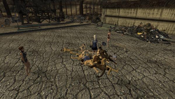 Fallout New Vegas - Зубастая вагина