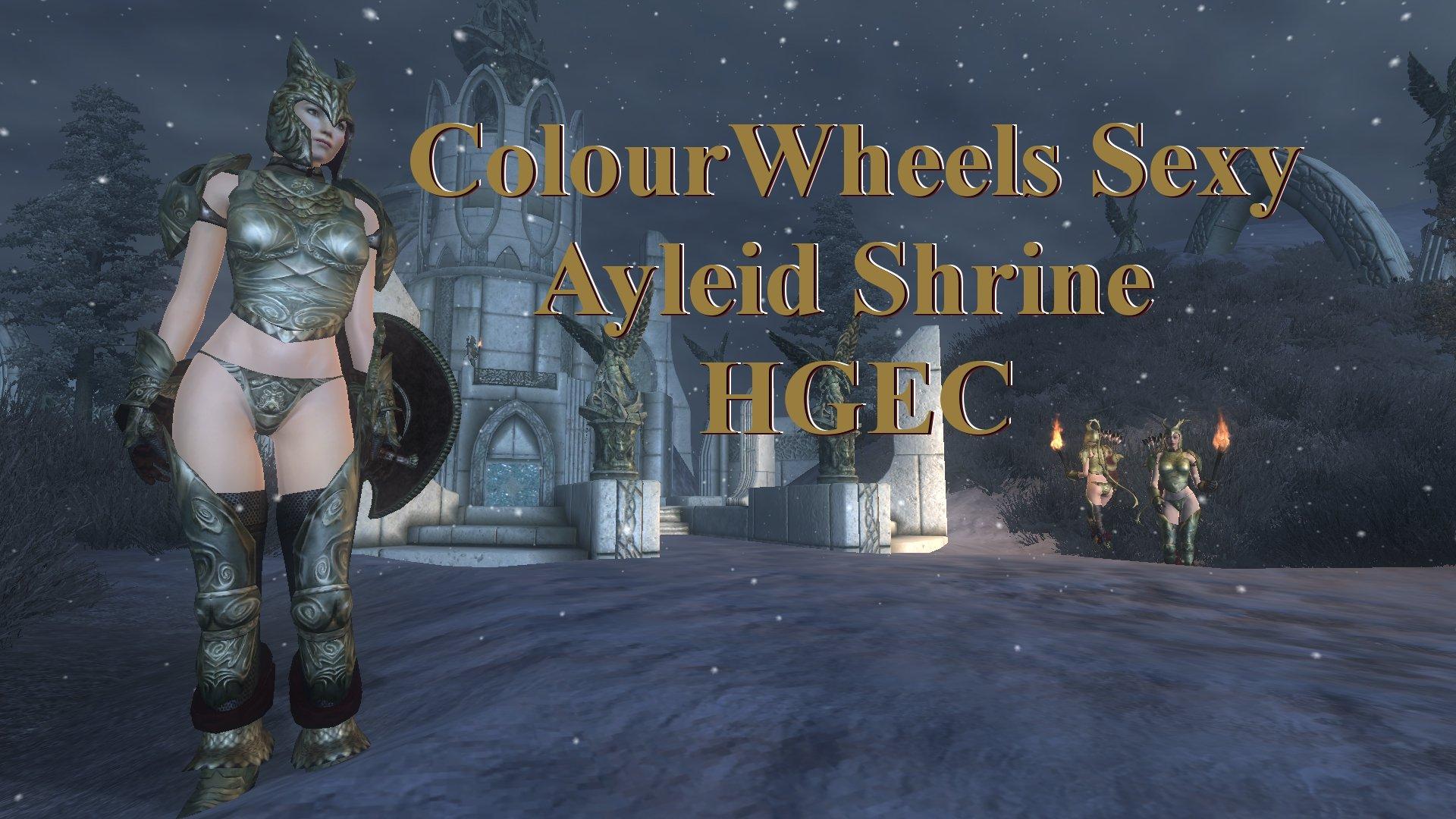 Colourwheels Sexy Ayleid Shrine HGEC Rus