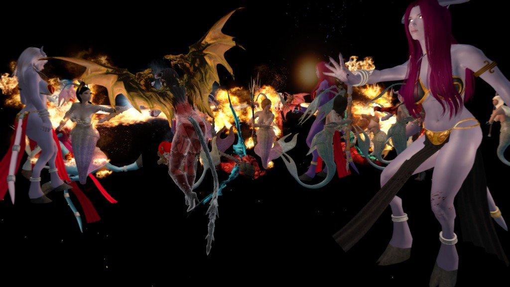 Female Monsters Of Skyrim (F.M.S) LE и SE Rus