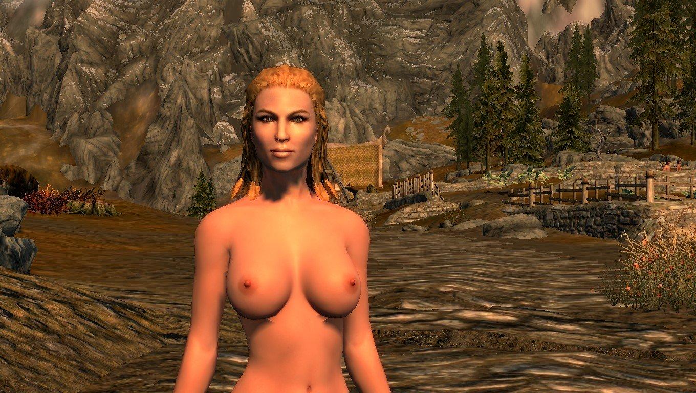 Naked Stuff of Skyrim (NSoS) Rus
