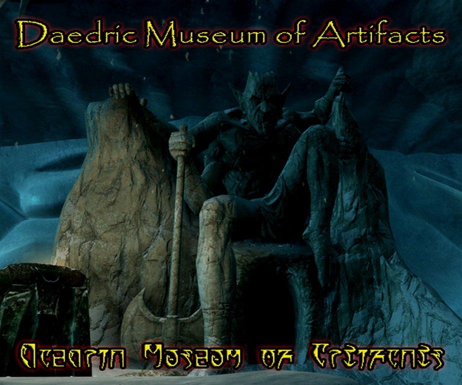 Daedric Museum of Artifacts SE и LE Rus