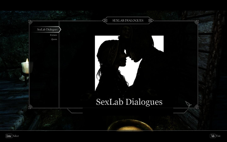 SexLab Dialogues Rus