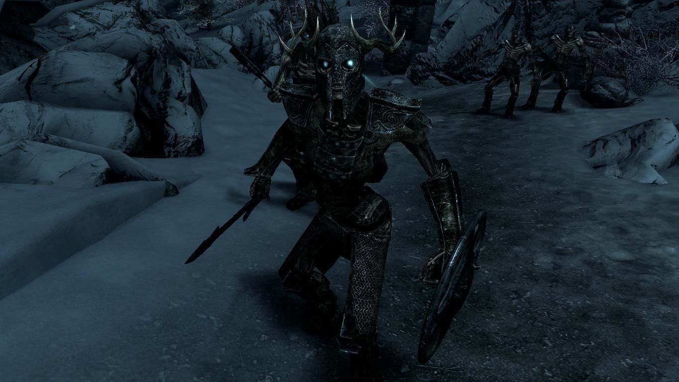 Draugr Patrols - Elements of Skyrim pt.3 (Mihail immersive add-ons) LE и SE Rus