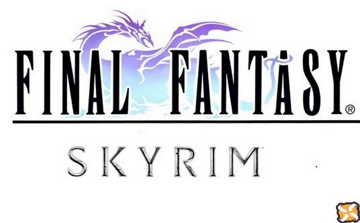 Final Fantasy Skyrim Rus