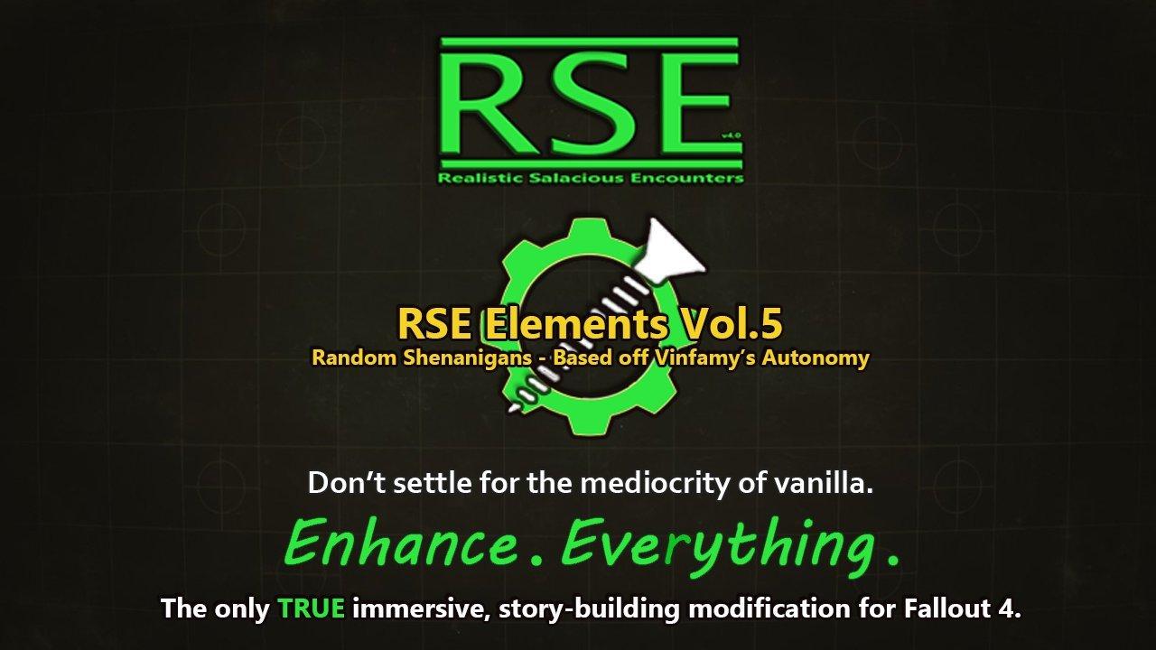 [AAF] RSE Elements Vol.5 - Random Shenanigans feat. RSE's Arousal System (NSFW Edition) Rus