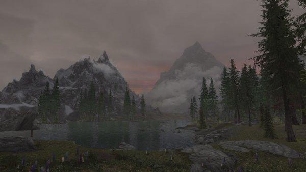 SkyrimSE пейзаж 004