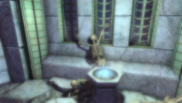 SkyrimSE Из жизни скелетов. Выпустите меняааа