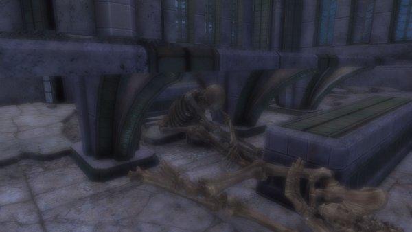 SkyrimSE Из жизни скелетов. А я в домике