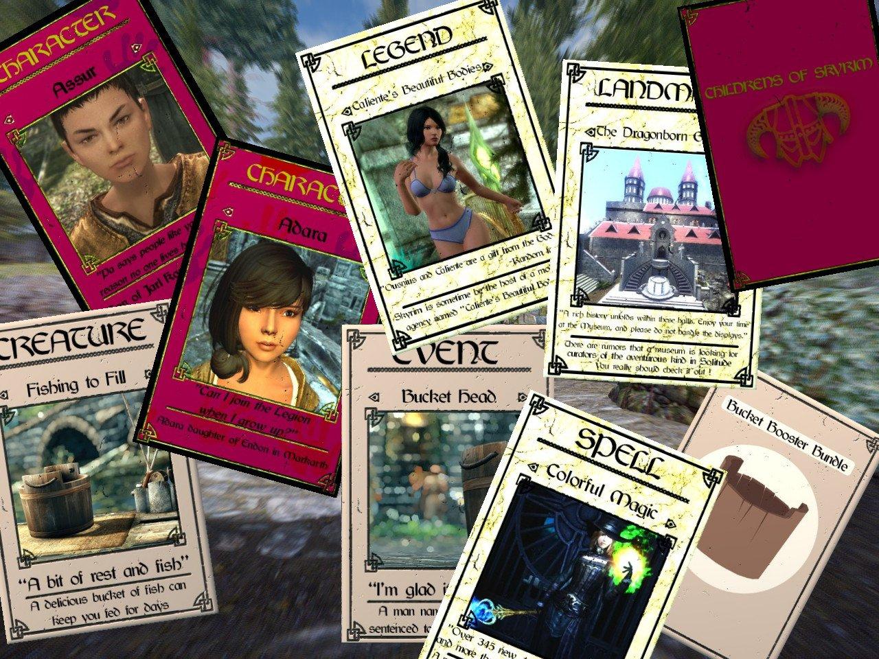 The Card Collector - Collectible Cards for Skyrim SE