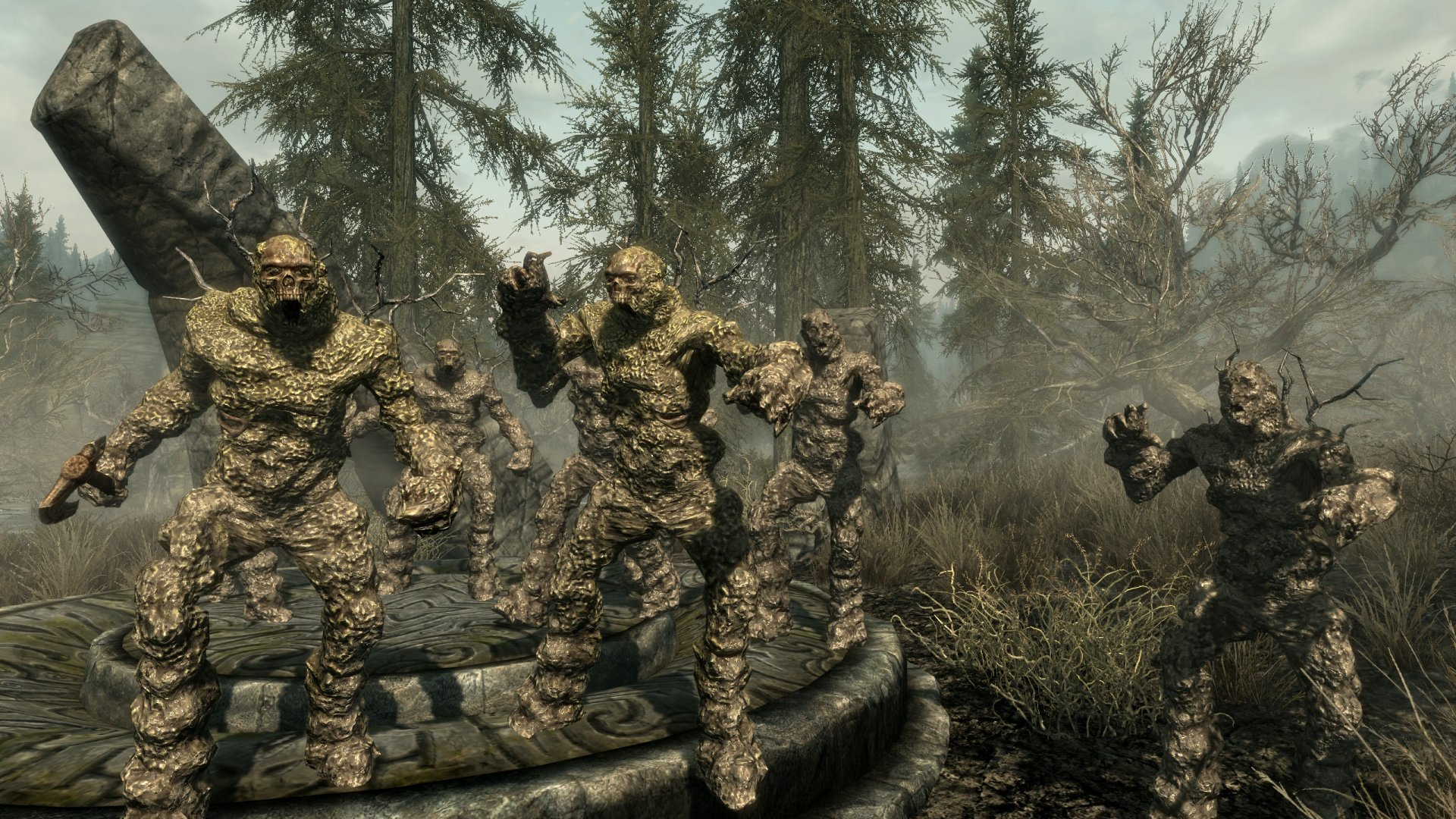 Bogmort - Mud Monsters of Morthal Swamp Rus