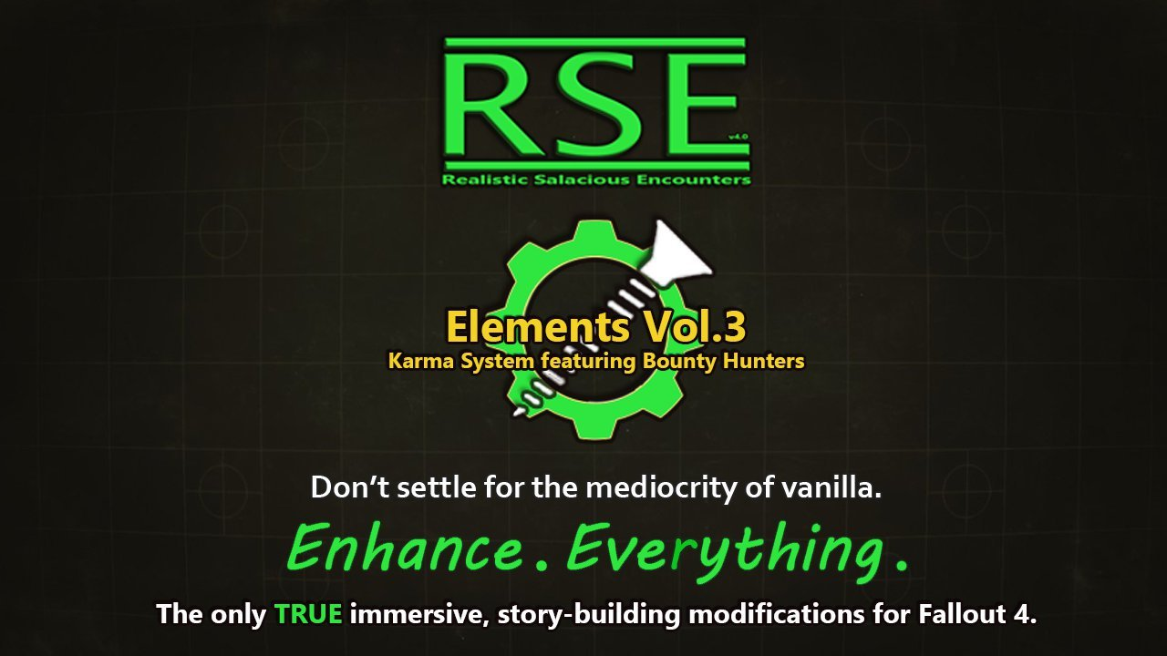 [AAF] RSE Elements Vol.3 - Karma System feat. Stalkers and Bounty Hunters (NSFW Edition) Rus