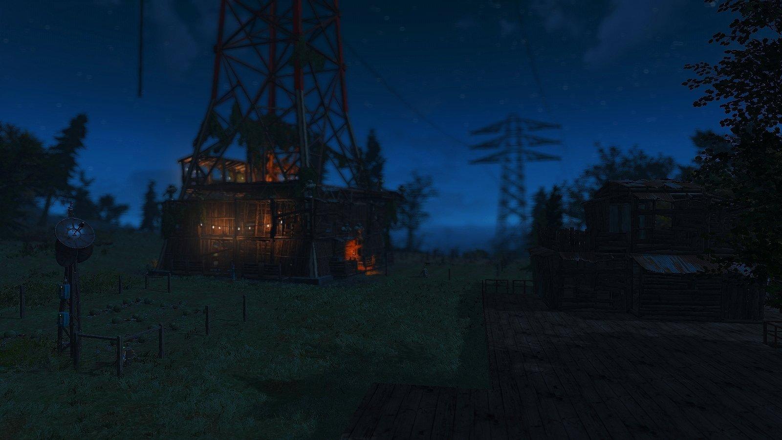 Начала строить деревню у Эбернети..