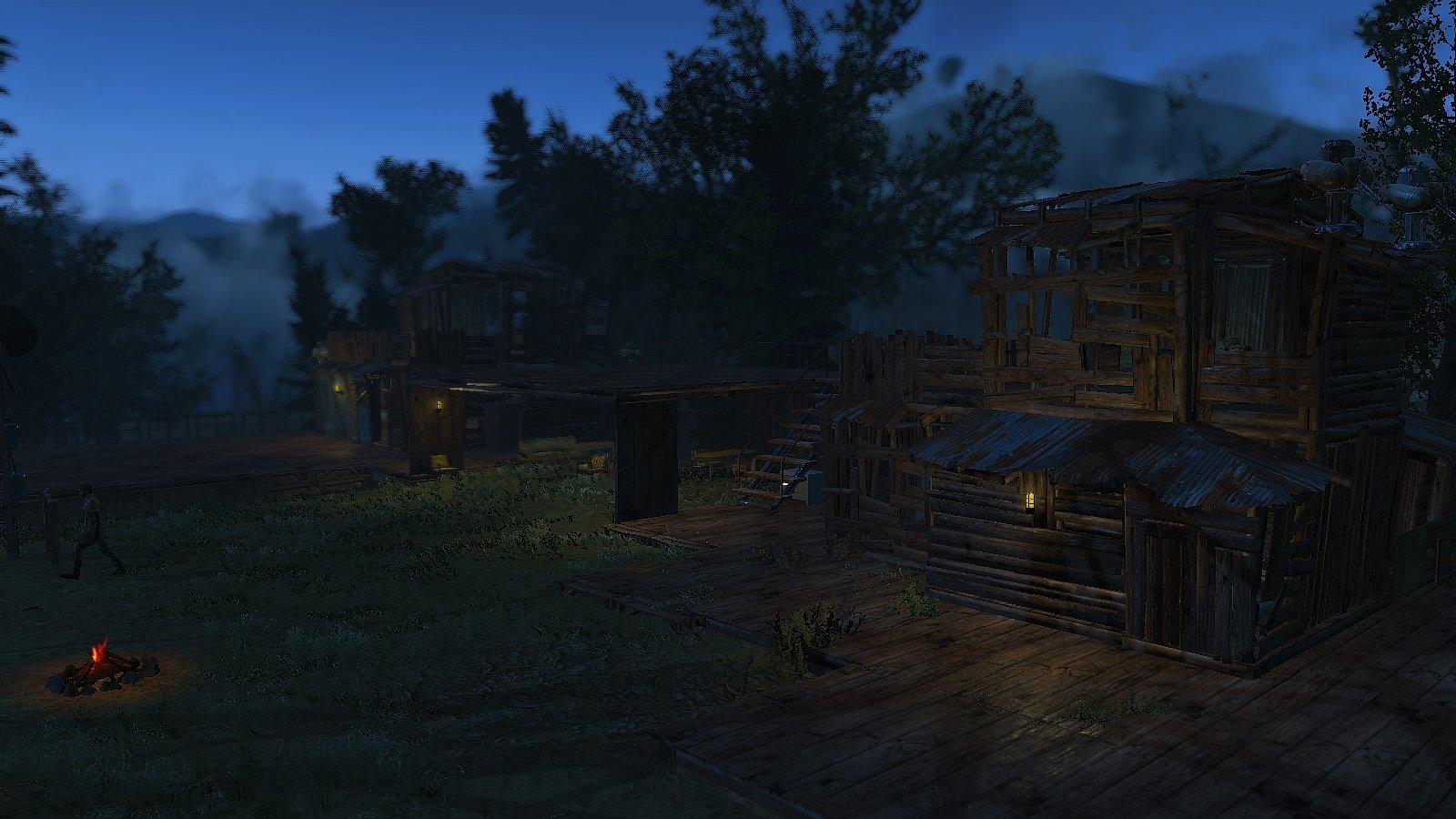 Деревня Эбернети. Начало положено