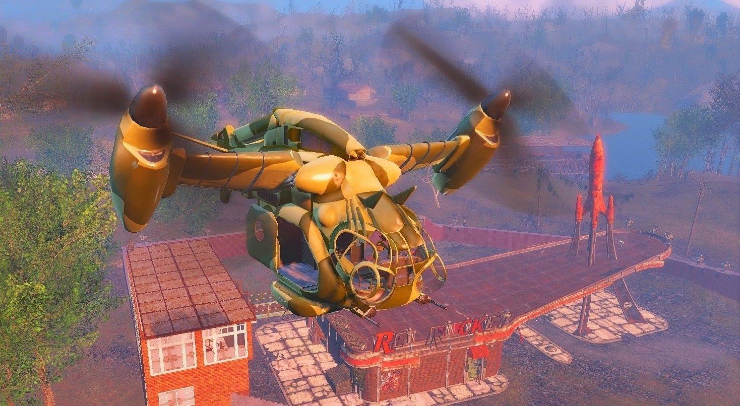 Fallout-4 глазами Windfire