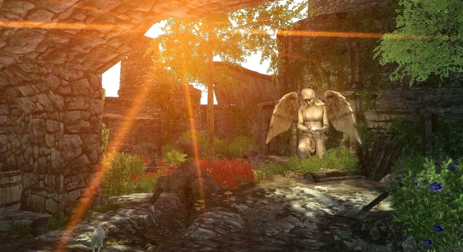 Заброшенный монастырь