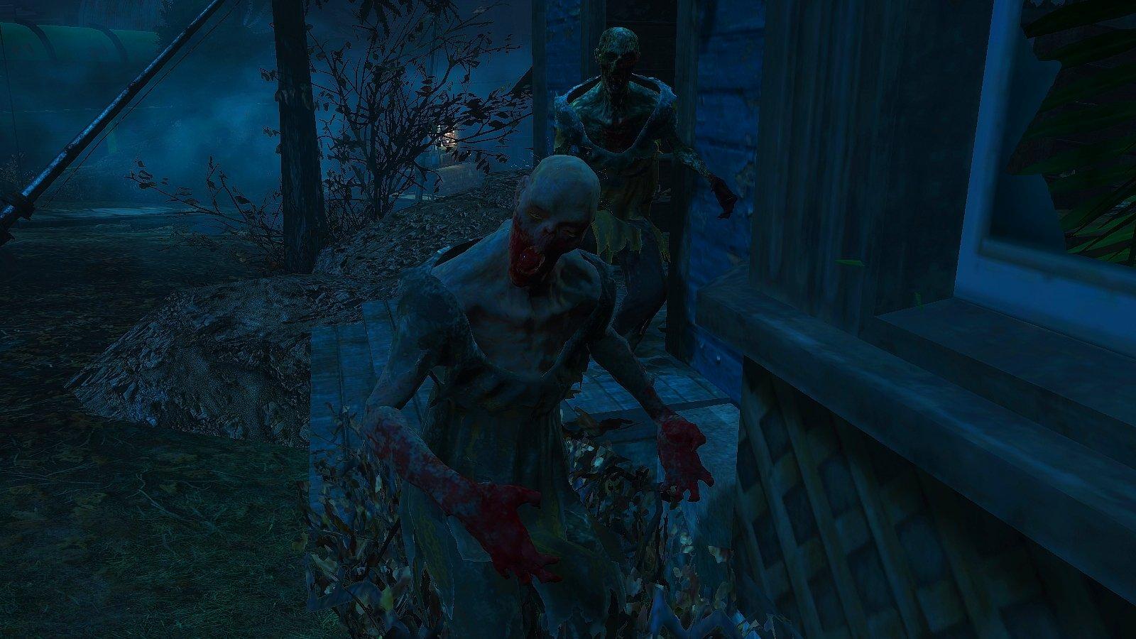 Зомбаки проснулись и пошли гулять..