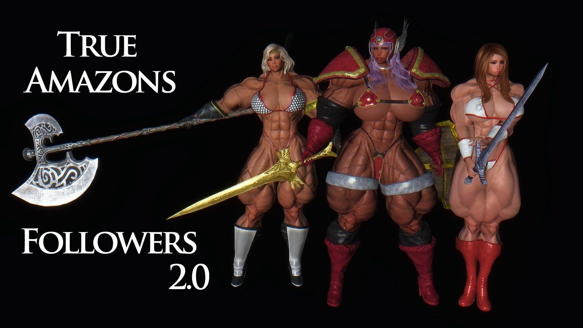 True Amazons Follower ru