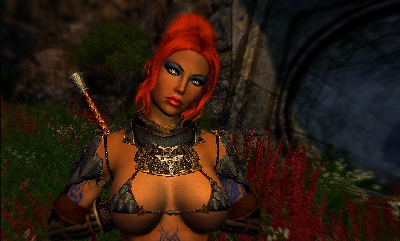 Шэйла вышла из развалин храма. Enderal