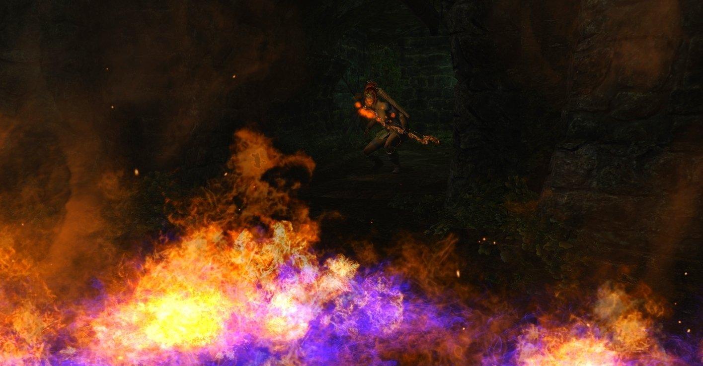 Шэйла и снена огня. Enderal