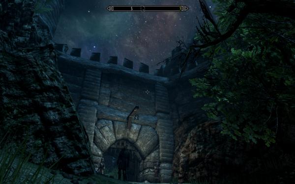 Ворота замка Гондуин (скорее, правда, крепости)