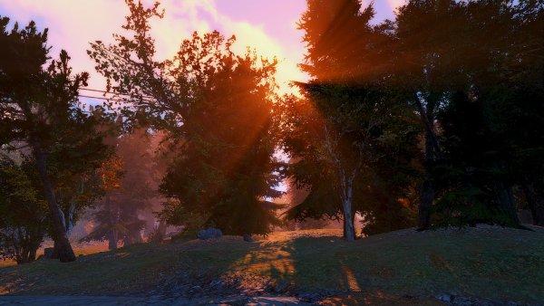 Закатное солнце.. Красота