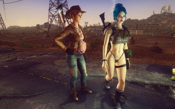 FalloutNV Кесс и ее караван...