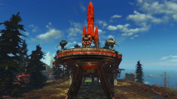 Кр.Ракета на Фар Харборе с дачей на крыше.