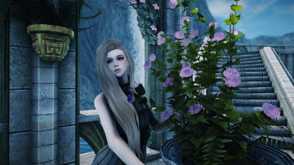 Миви и цветок