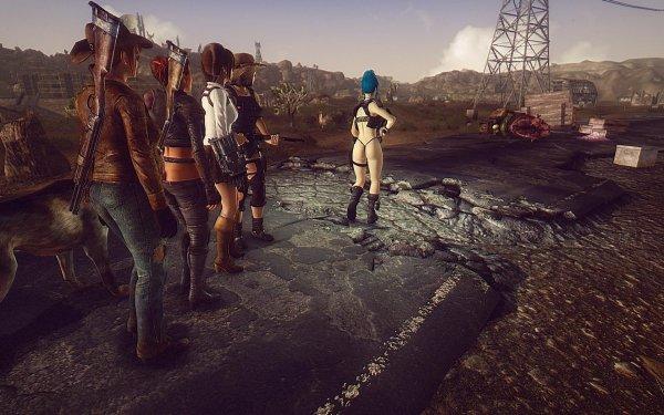 FalloutNV На месте гибели каравана