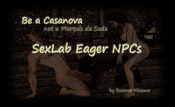 Sexlab Eager NPC's SE (SLEN) Rus