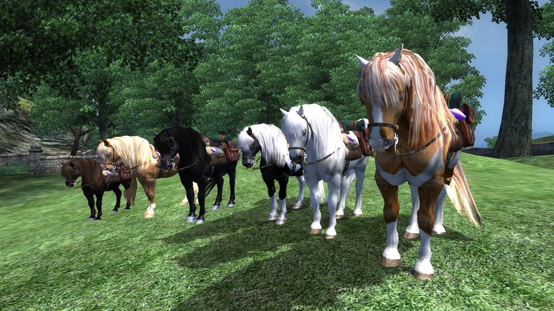 Rideable Packponies Rus