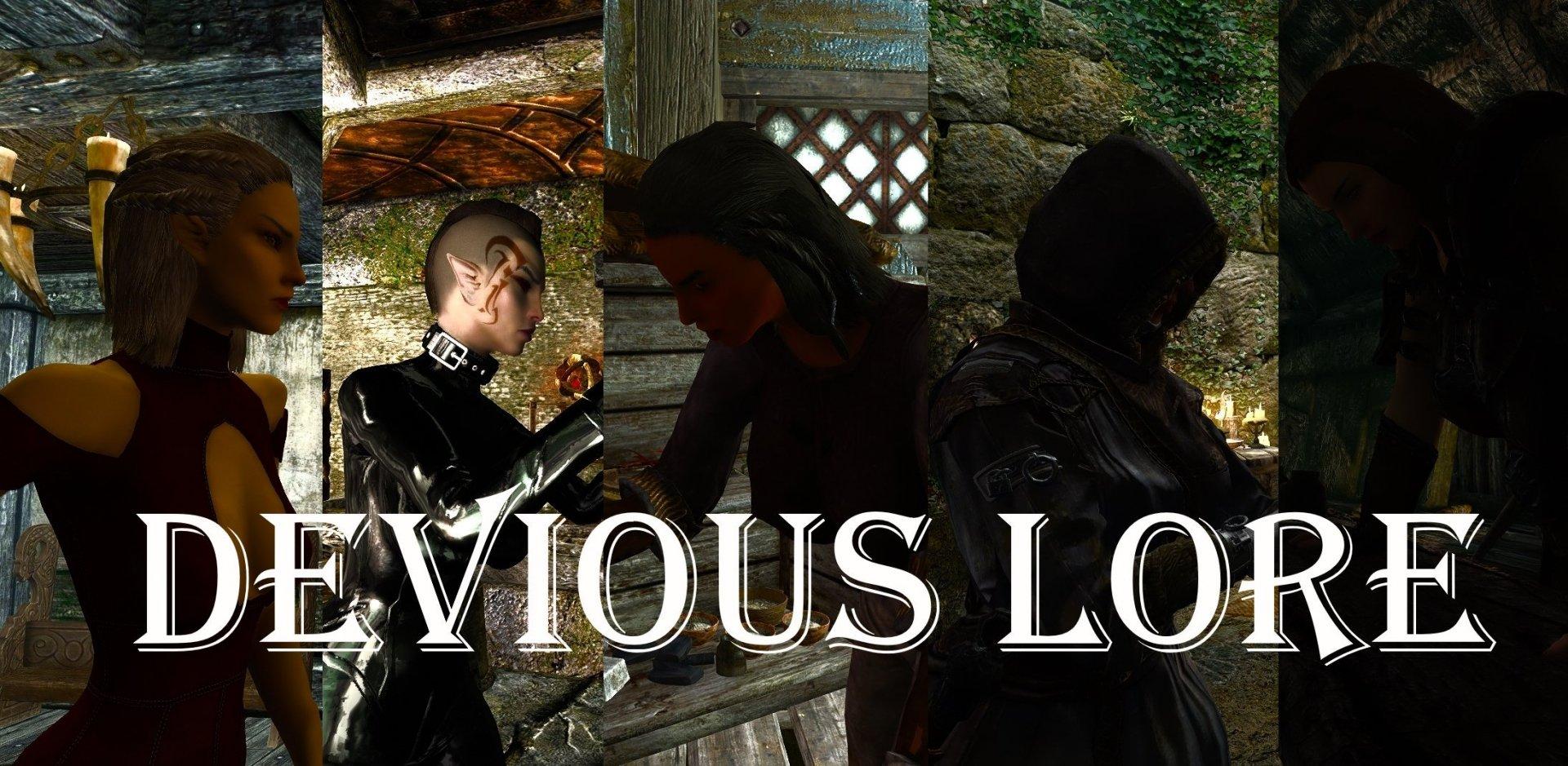 Devious Lore 1.12Rus