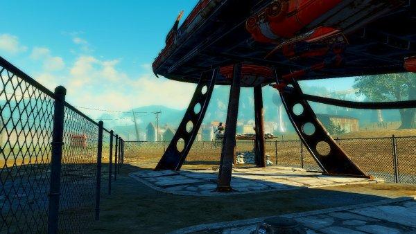 К.Ракета в Ядер-мире. Fallout4
