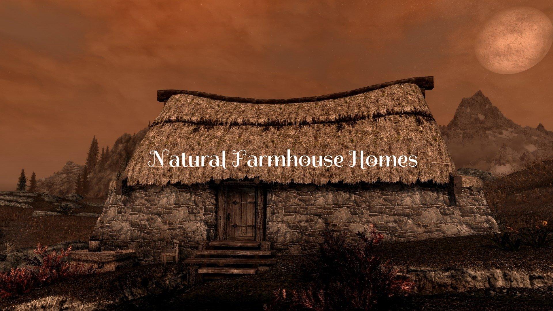 Natural Farmhouse Homes Rus
