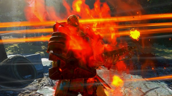 """Жарим"" супермутанта. Fallout4"