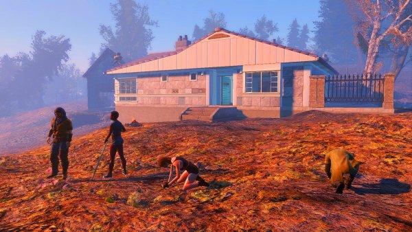 Котедж на берегу - достроила! Fallout4