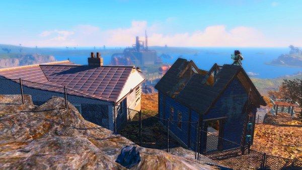 Котедж на берегу. Fallout4