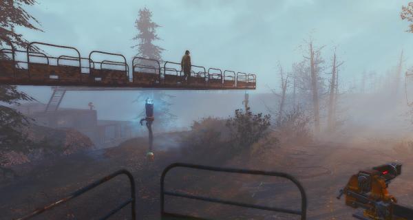 Чего только не строила, в Fallout4..