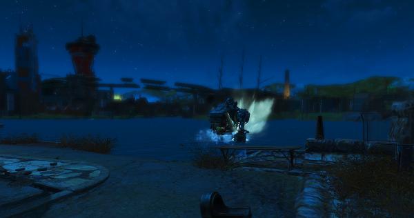 Залив - вброд!  Fallout4