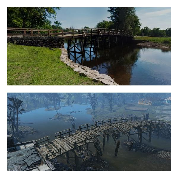 Мост в Сэнкчуари в реальности