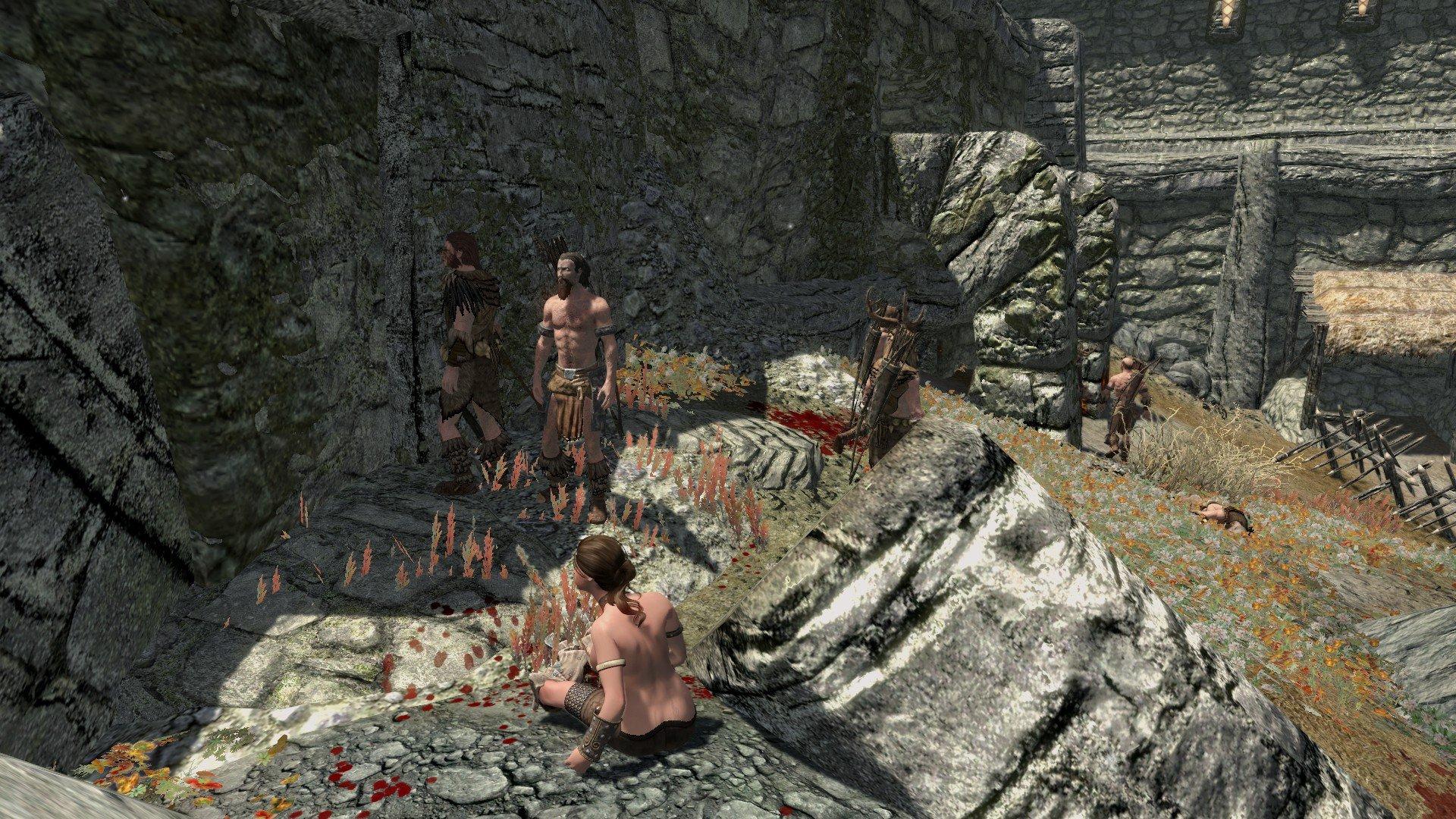 Приключения в Скайриме