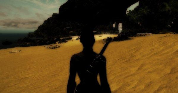 Пустой нудистский пляж.. Enderal