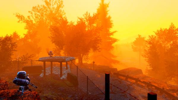 Периметр под охраной турелей. Fallout-4