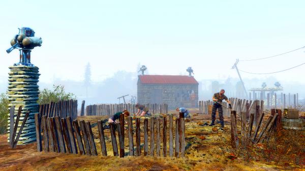 Кто узнает это поселение, тому..  fallout-4